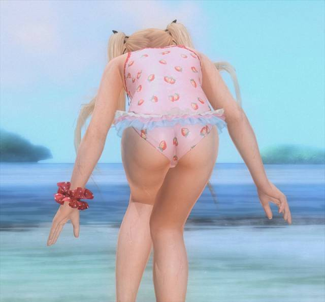 DEAD OR ALIVE Xtreme3の新作発売記念でマリーローズのエロ乳画像026